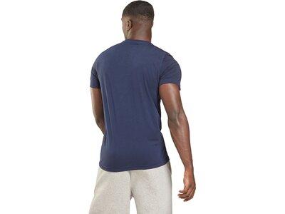REEBOK Herren Road Trip Graphic T-Shirt Blau