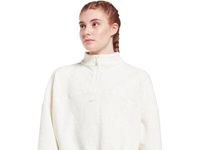 REEBOK Damen Sweatshirt Fashion Weiß