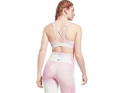REEBOK Damen Sport-BH Lux Strappy Grau