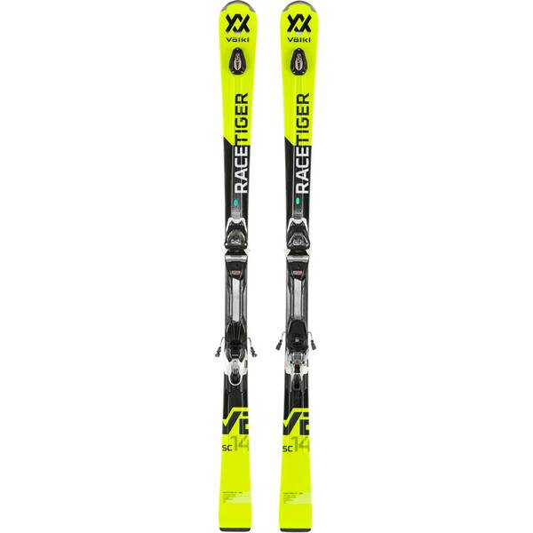 VÖLKL Herren Racing Ski RACETIGER SC YELLOW+VMOTION 10 GW