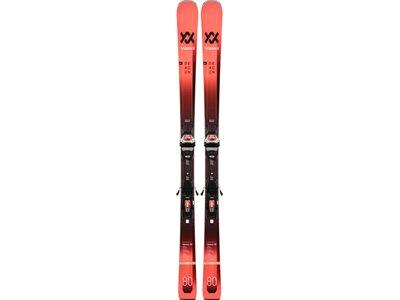 VÖLKL Herren All-Mountain Ski DEACON 80 LR +LOWRIDE XL 13 FR D GW Rot
