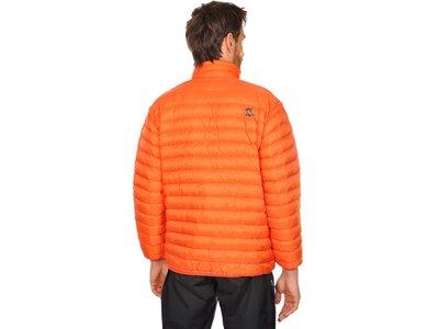 VÖLKL Herren Daunenjacke PRO MICRONIC Orange