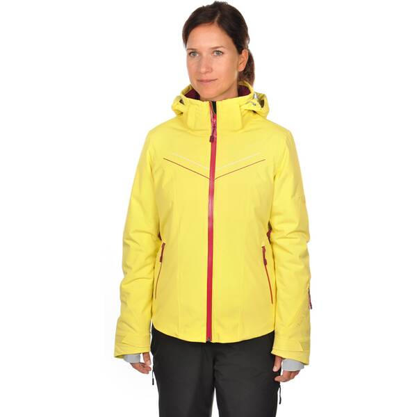 VÖLKL Damen Skijacke SILVER Gelb