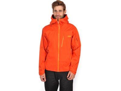 VÖLKL Herren Skijacke TOURING HOODED LITE Orange