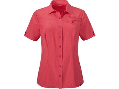 SCHÖFFEL Damen Bluse Blouse Mendoza UV Rot