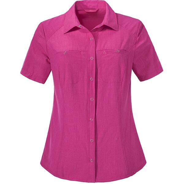 SCHÖFFEL Damen Bluse Blouse Sardinien UV Pink