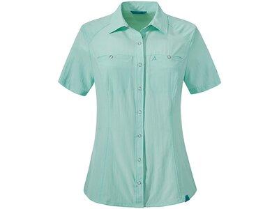 SCHÖFFEL Damen Bluse Blouse Sardinien UV Grün