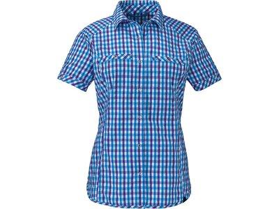 SCHÖFFEL Damen Bluse Blouse Walla Walla UV Blau