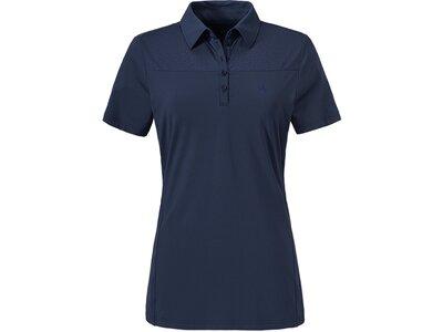 SCHÖFFEL Damen Poloshirt Essen Blau