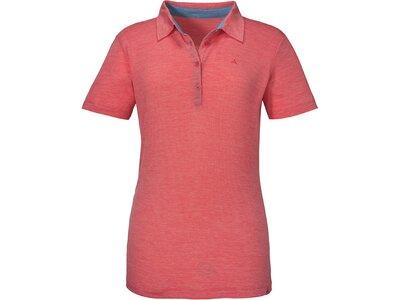 SCHÖFFEL Damen Poloshirt Manali Orange