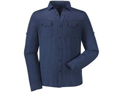 SCHÖFFEL Shirt Paso Tonale UV Blau