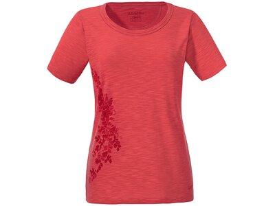 SCHÖFFEL Damen T-Shirt Kinshasa Orange
