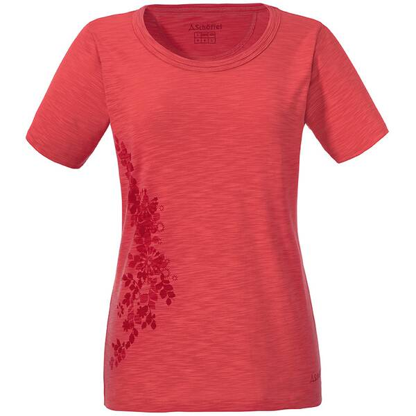 SCHÖFFEL Damen T-Shirt Kinshasa Orange
