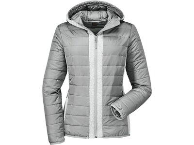 SCHÖFFEL Damen Jacke Hybrid Gijon1 Grau