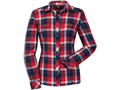 SCHÖFFEL Damen Bluse Blouse Andermatt1 Grau