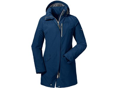 SCHÖFFEL Damen Outdoorjacke Jacket Shanghai1 Blau
