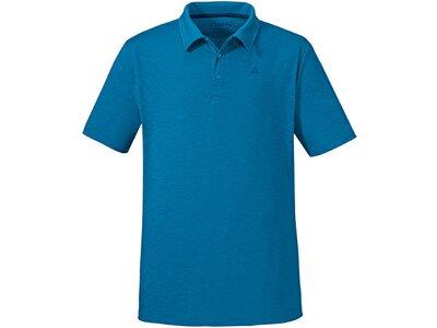 SCHÖFFEL Herren Poloshirt Izmir Blau