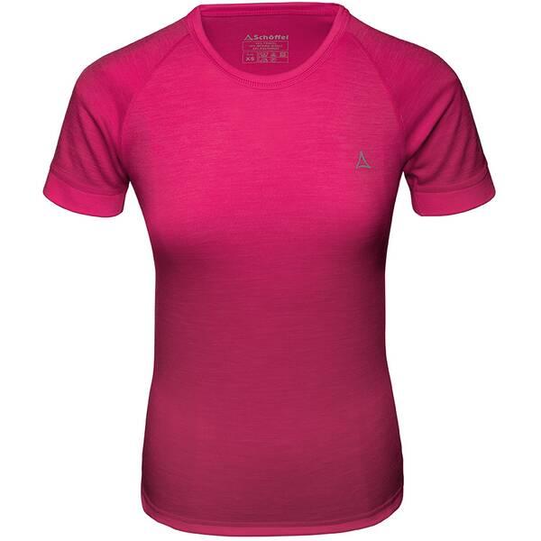 SCHÖFFEL Damen Unterhemd Merino Sport Shirt 1/2 Arm W