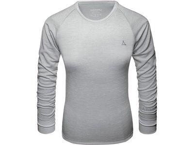 SCHÖFFEL Damen Underwear Shirt Merino Sport Shirt 1/1 Arm W Grau