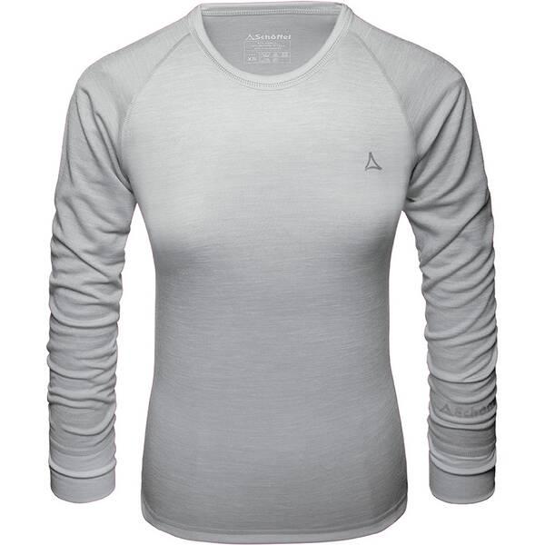 SCHÖFFEL Damen Unterhemd Merino Sport Shirt 1/1 Arm W