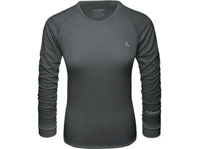 SCHÖFFEL Damen Underwear Shirt Merino Sport Shirt 1/1 Arm W Schwarz