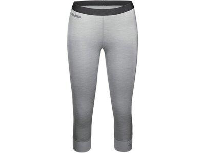 SCHÖFFEL Damen Unterhose Merino Sport Pants short W Grau