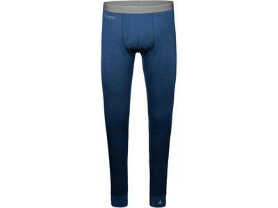 SCHÖFFEL Herren Underwear Pants Merino Sport Pants long M Blau