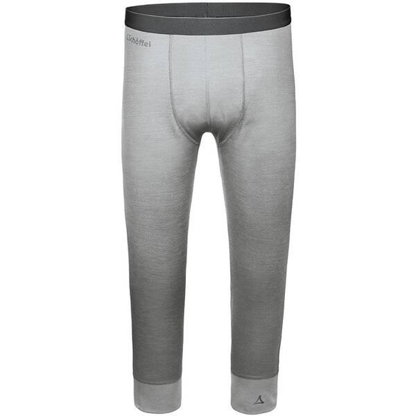 SCHÖFFEL Herren Funktionsunterhose / Funktionsunterwäsche Merino Sport Pants short | Sportbekleidung > Funktionswäsche > Thermoleggings | Gray | SCHÖFFEL