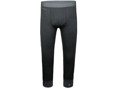 SCHÖFFEL Herren Funktionsunterhose / Funktionsunterwäsche Merino Sport Pants short Schwarz