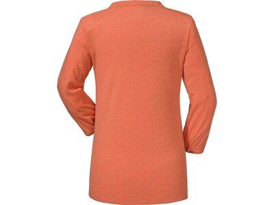 SCHÖFFEL Damen Outdoor-Shirt Johannesburg 7/8-Arm Orange