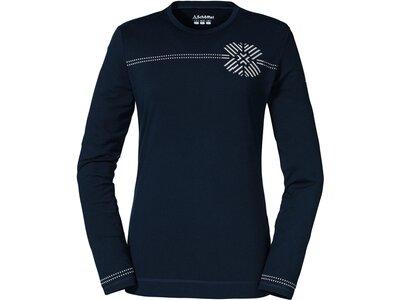 SCHÖFFEL Damen Shirt Longsleeve Furkajoch L Blau