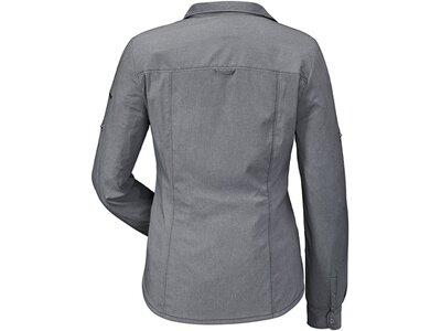 SCHÖFFEL Damen Bluse Blouse Stralsund1 Grau