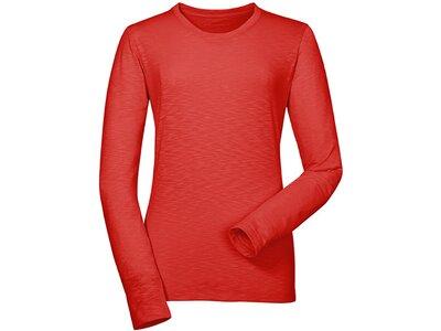 SCHÖFFEL Damen Shirt Longsleeve La Molina2 Orange