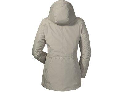 SCHÖFFEL Damen Jacke Lagos1 Grau