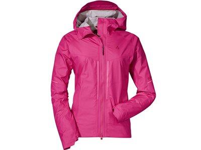 SCHÖFFEL Damen Jacke Gardasee1 L Pink