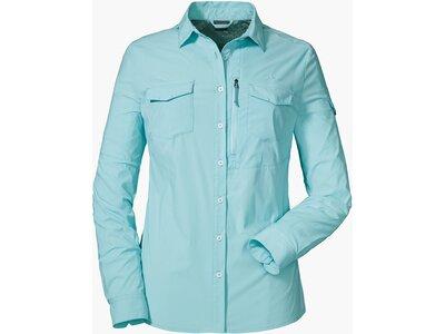 SCHÖFFEL Damen Bluse Schwangau2 Blau