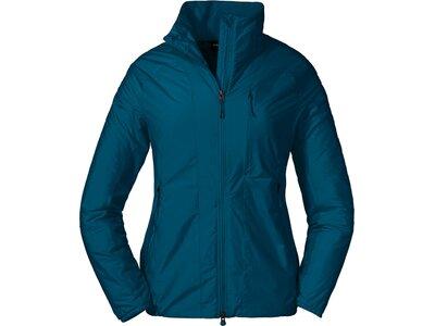 SCHÖFFEL Damen Hybrid Jacket La Noire L Blau