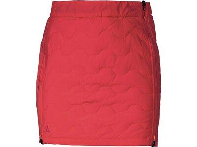 SCHÖFFEL Damen Rock Thermo Skirt Pazzola L Rot