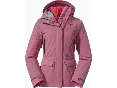 SCHÖFFEL Damen Doppeljacke 3in1 Parka Roraima L Pink