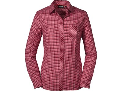 SCHÖFFEL Damen Bluse Blouse Colfosco L Rot