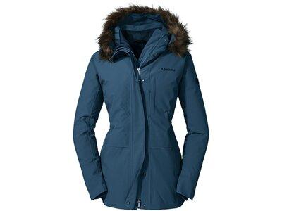 SCHÖFFEL Damen Funktionsjacke Down Jacket Budapest L Blau