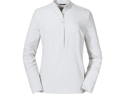 SCHÖFFEL Damen Bluse Blouse Ellerslie L Weiß