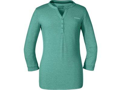 SCHÖFFEL Damen Shirt Longsleeve Bukarest L Grün