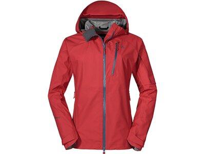 SCHÖFFEL Damen Jacke 3L Jacket Annapolis2 Rot
