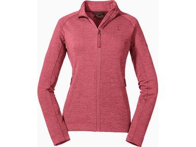 SCHÖFFEL Damen Fleecejacke Fleece Jacket Tonquin L Pink