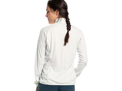 SCHÖFFEL Damen Fleecejacke Fleece Jacket Rotwand L Weiß