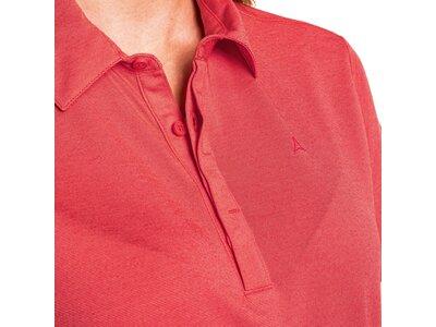 SCHÖFFEL Damen Shirt Polo Shirt Scheinberg L Rot