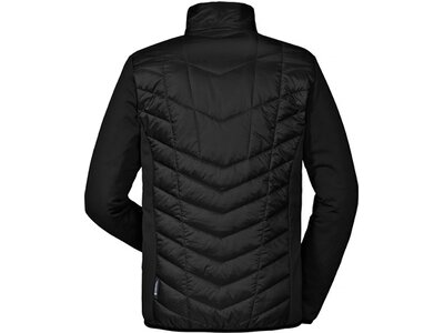 SCHÖFFEL Herren Outdoorjacke Hybrid ZipIn! Jacket Rom1 Schwarz