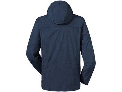 SCHÖFFEL Herren Wanderjacke ZipIn! Jacket Denver1 Blau