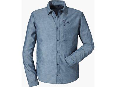 SCHÖFFEL Herren Shirt Stockholm4 LG Blau
